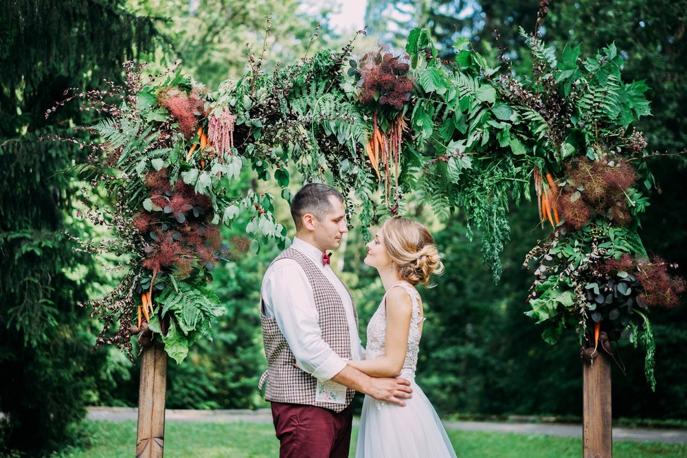 Овощная свадьба Артема и Лены