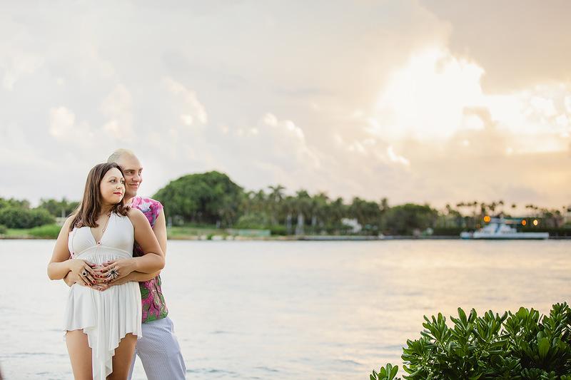 Miami Beach love-story