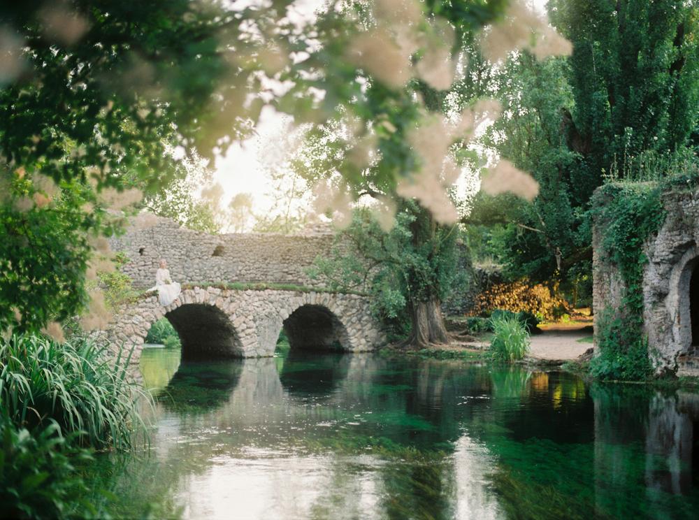 Gardens of Ninfa in Italy