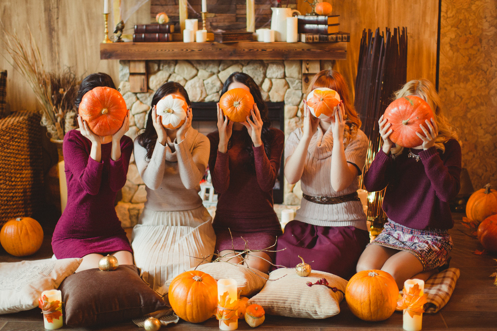 Pumpkin girls party