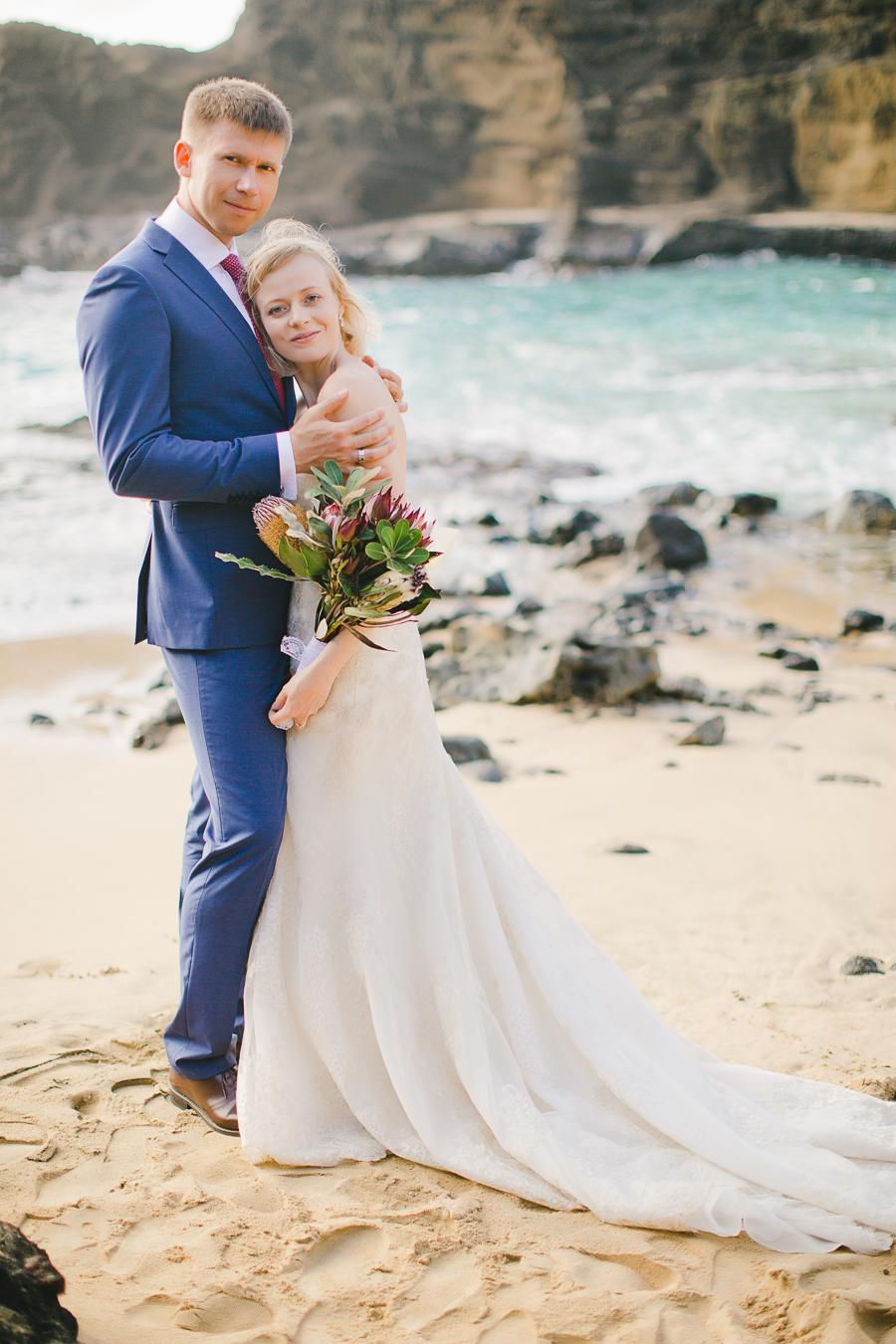 Hawaii Beach Wedding Film