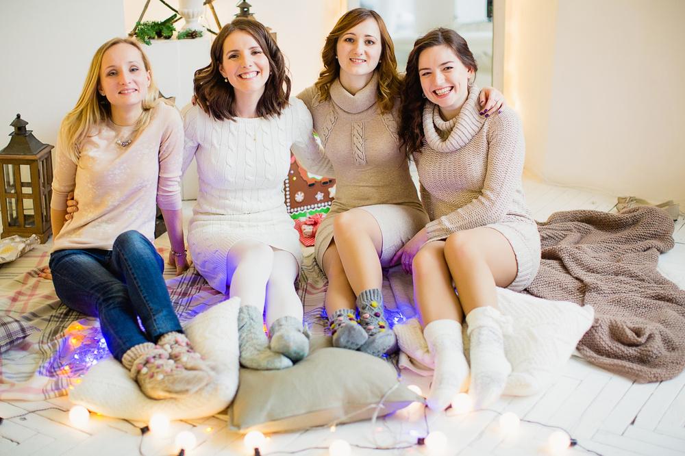 Cozy winter party