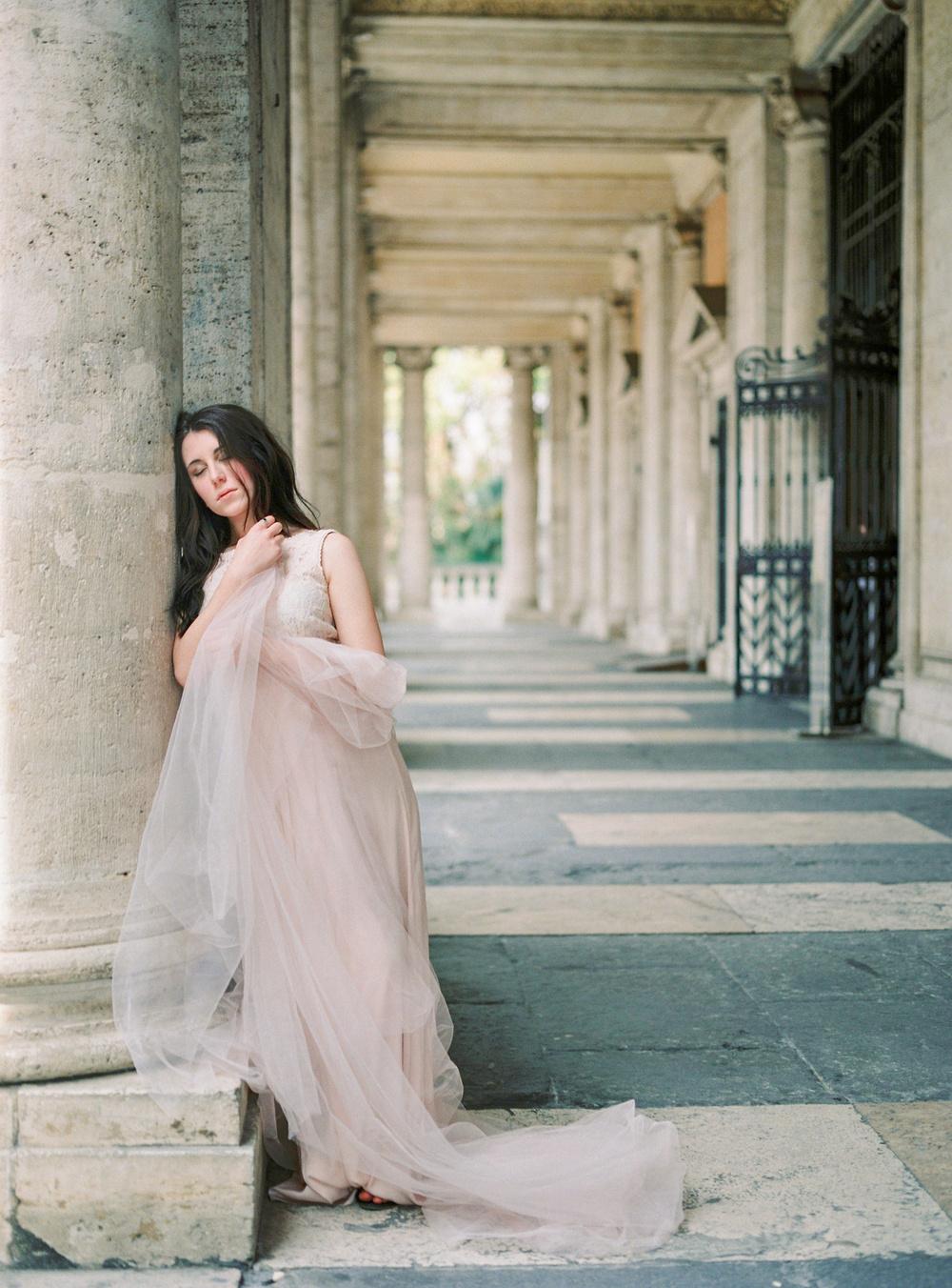 Bridal shoot in Rome