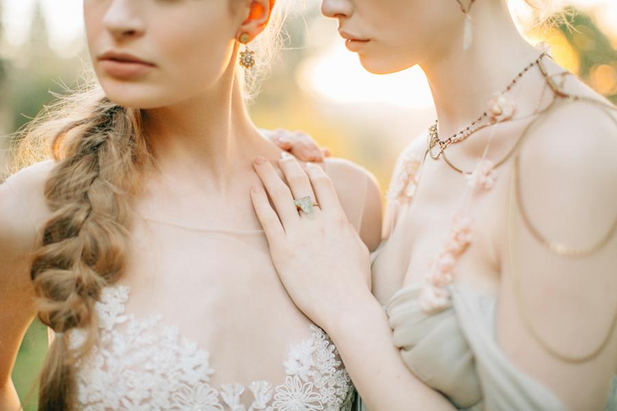 Bridal shoot in Orvieto