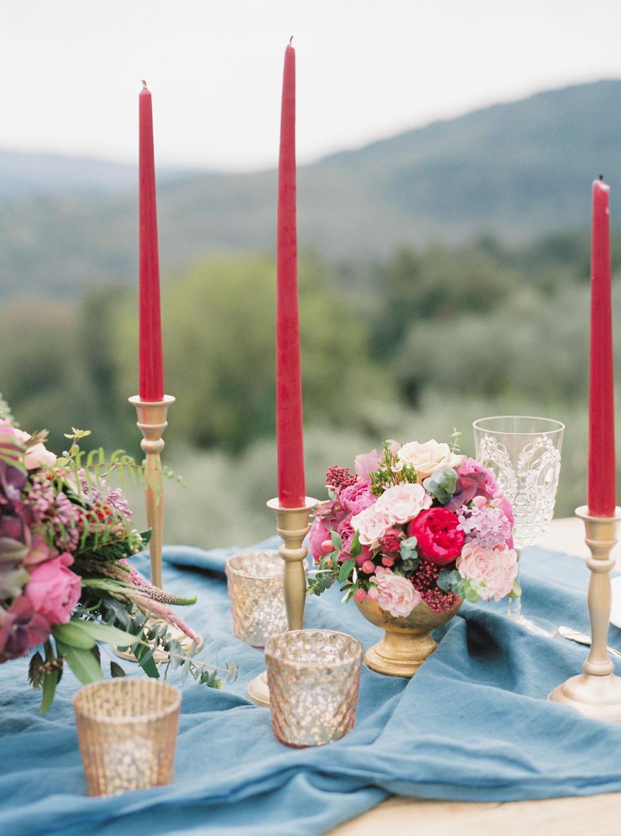 Colorful Tuscan Wedding in Montestigliano Film