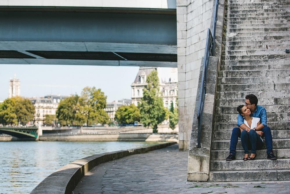 Остров Сите в Париже. Фотограф Ольга Литманова