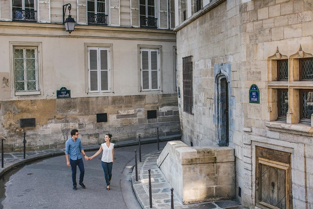 Маленькие улочки Парижа