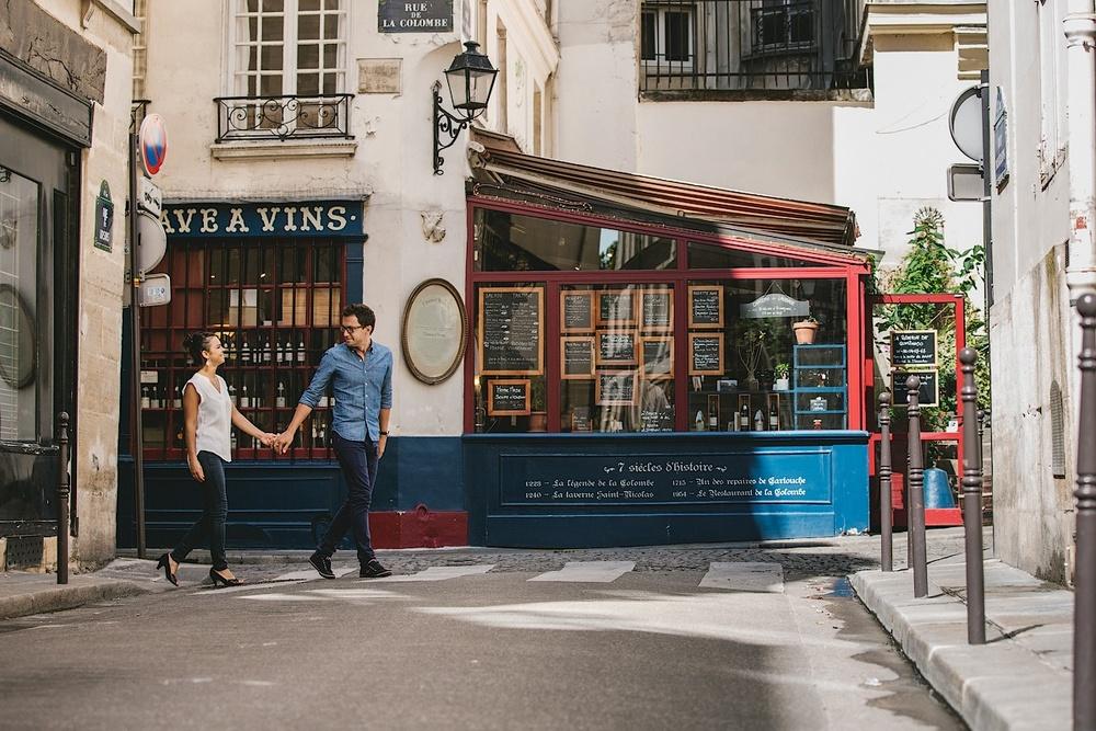 Предсвадебная фотосессия в Париже