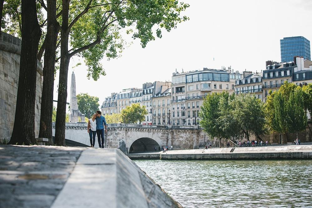 Остров Сите в самом центре французской столицы