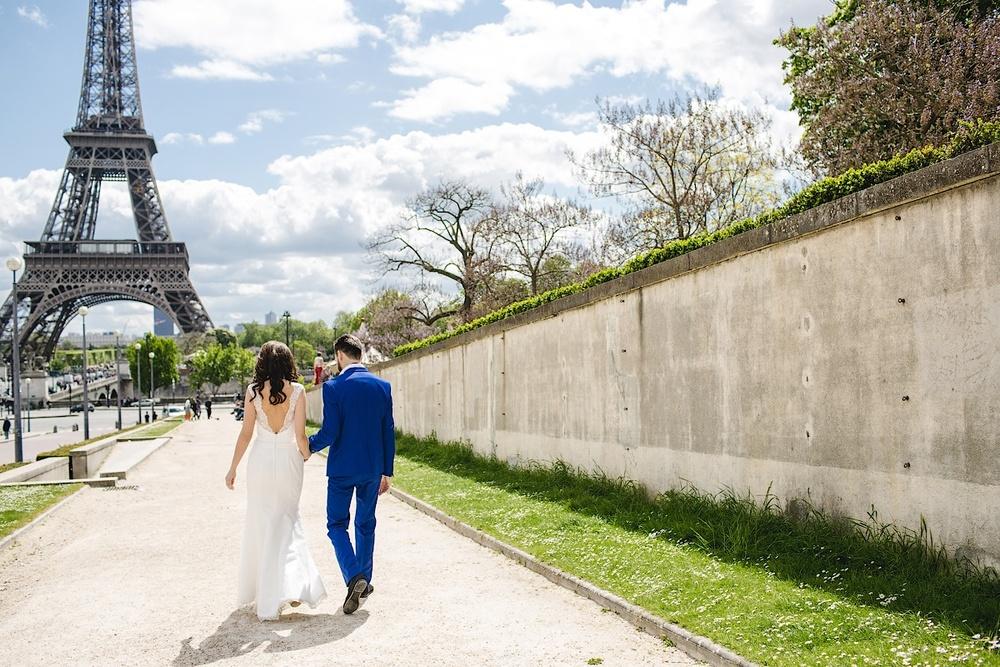 Эйфелева башня, Париж. Фотограф Ольга Литманова
