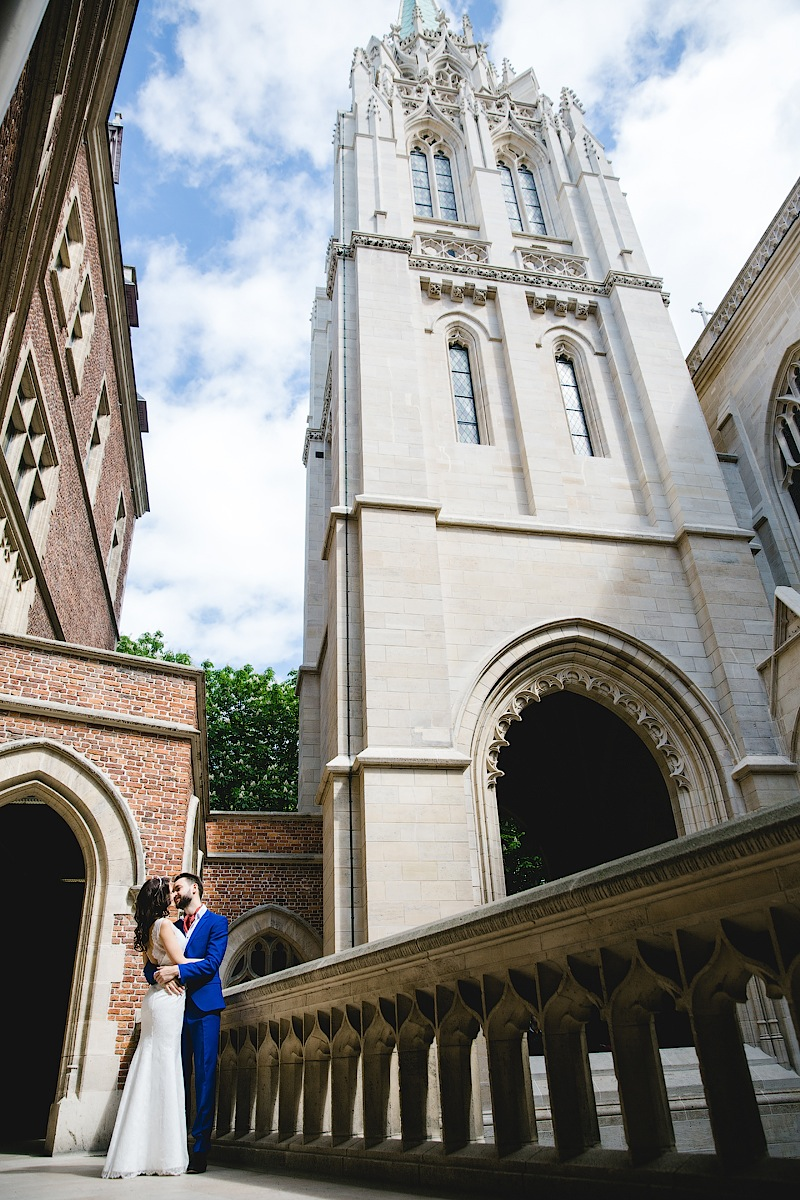 Американская церковь в Париже. Фотограф Литманова