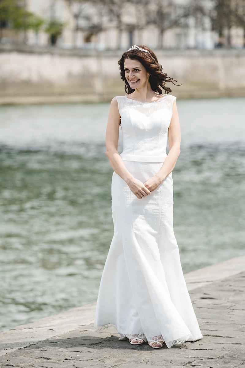 Портрет невесты в Париже. Фотограф Ольга Литманова