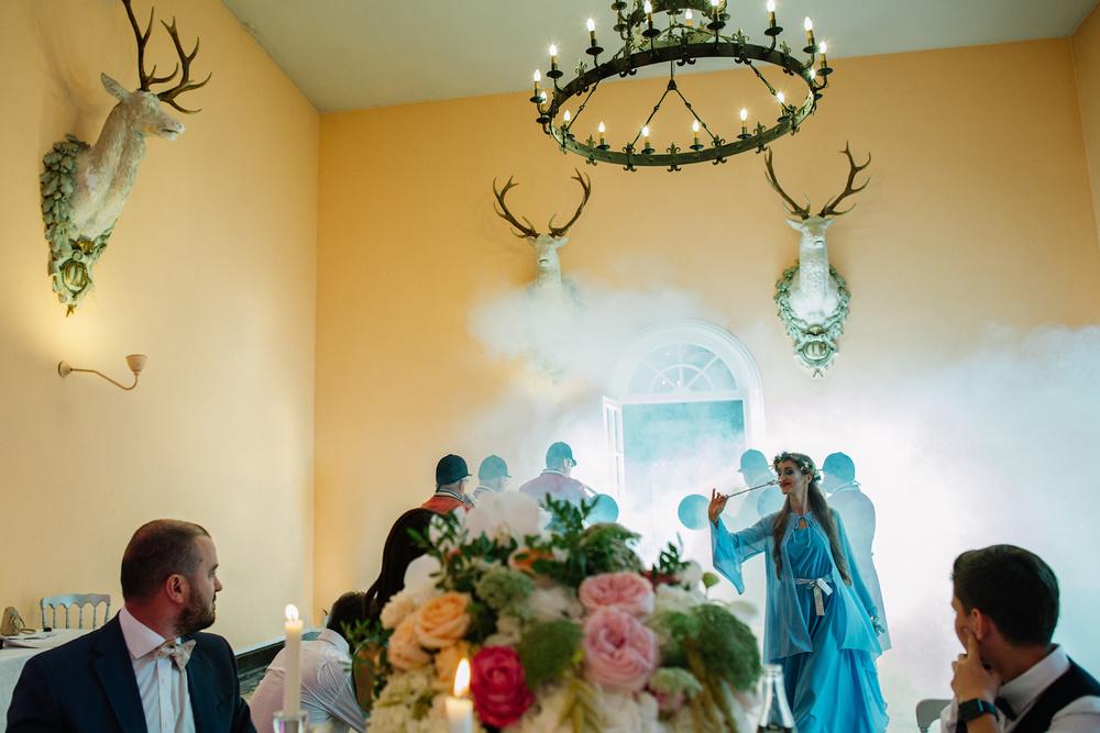 Свадьба в замке во Франции