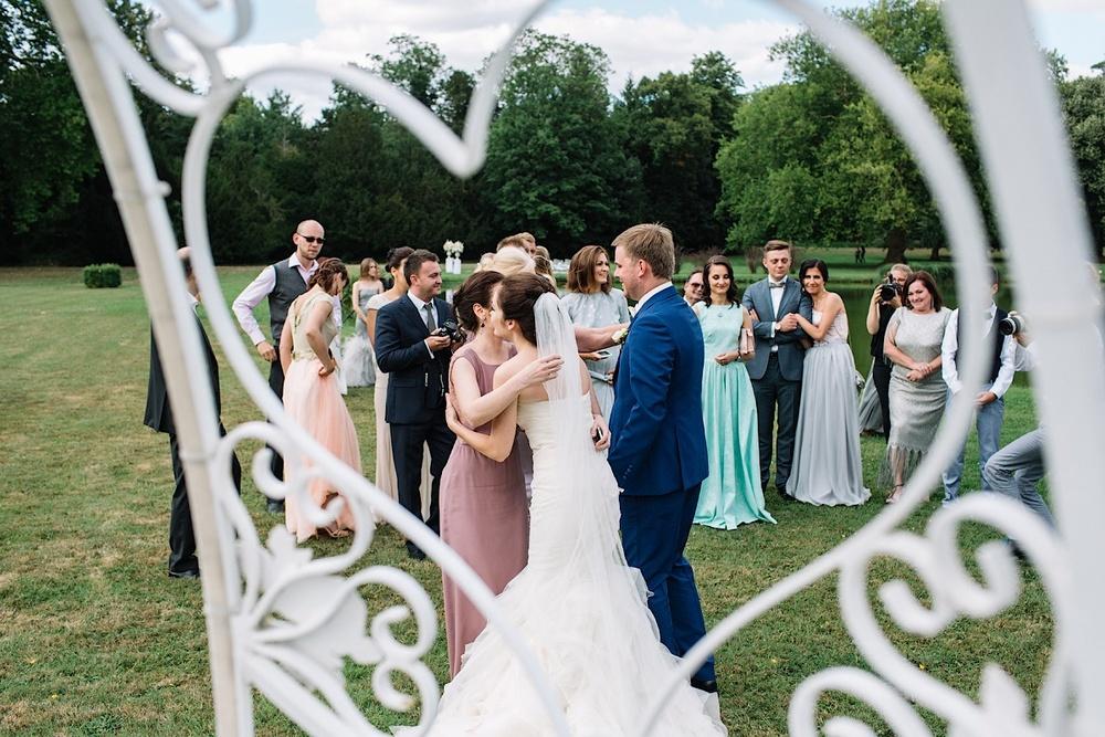 Поздравление жениха и невесты на свадьбе