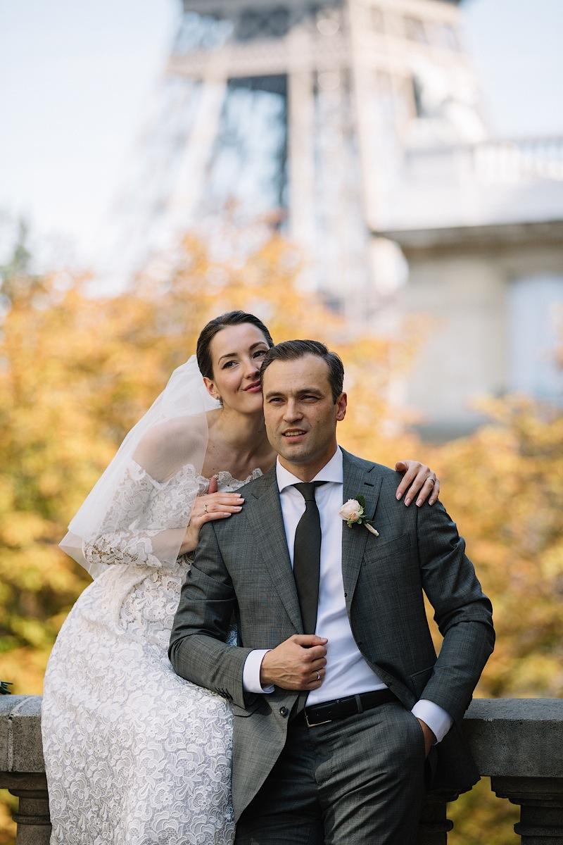 Париж - идеальное место для вашей свадьбы