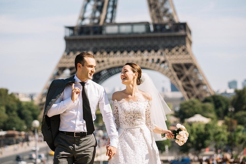 О такой невесте в Париже можно только мечтать