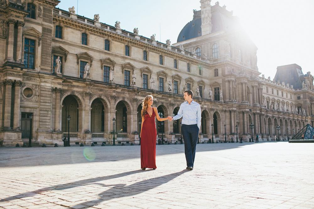 PRE-WEDDING IN PARIS