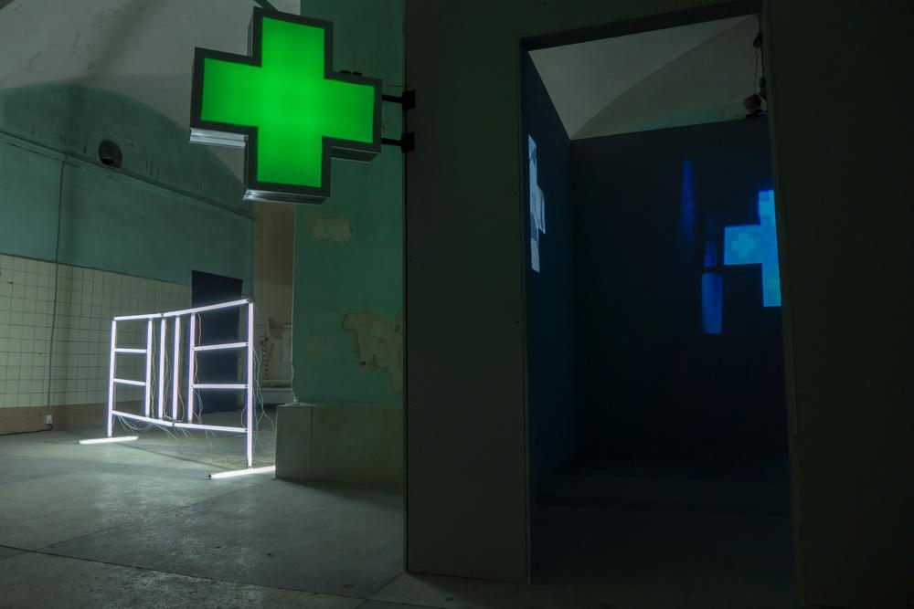 Mild light, Manifesta 10, Petersburg, 2014