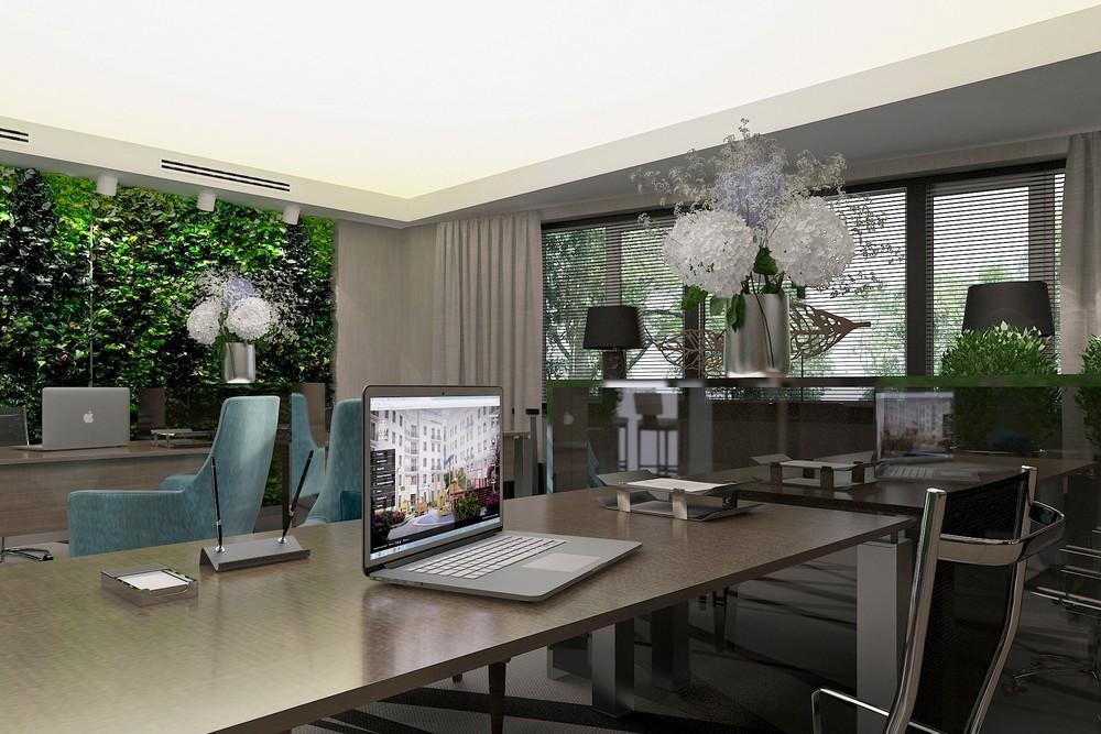 Офис продаж недвижимости в Гринвиче
