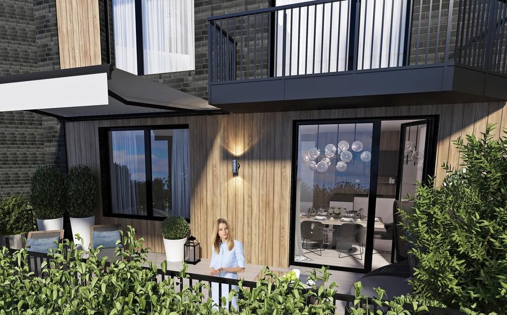Мария Шубина Вероника Добрякова Терраса балкон дизайн интерьера отель