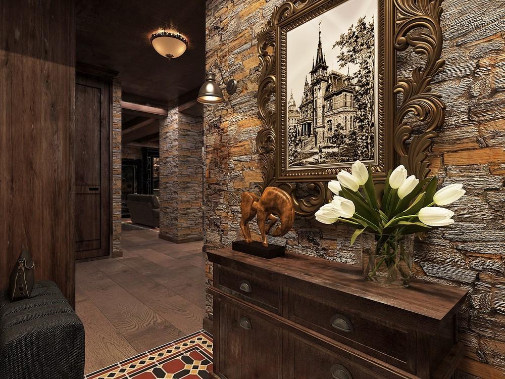 Мария Шубина Вероника Добрякова прихожая дизайн интерьера отель
