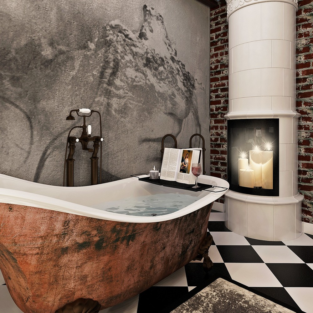 Мария Шубина Вероника Добрякова ванная дизайн интерьера отель