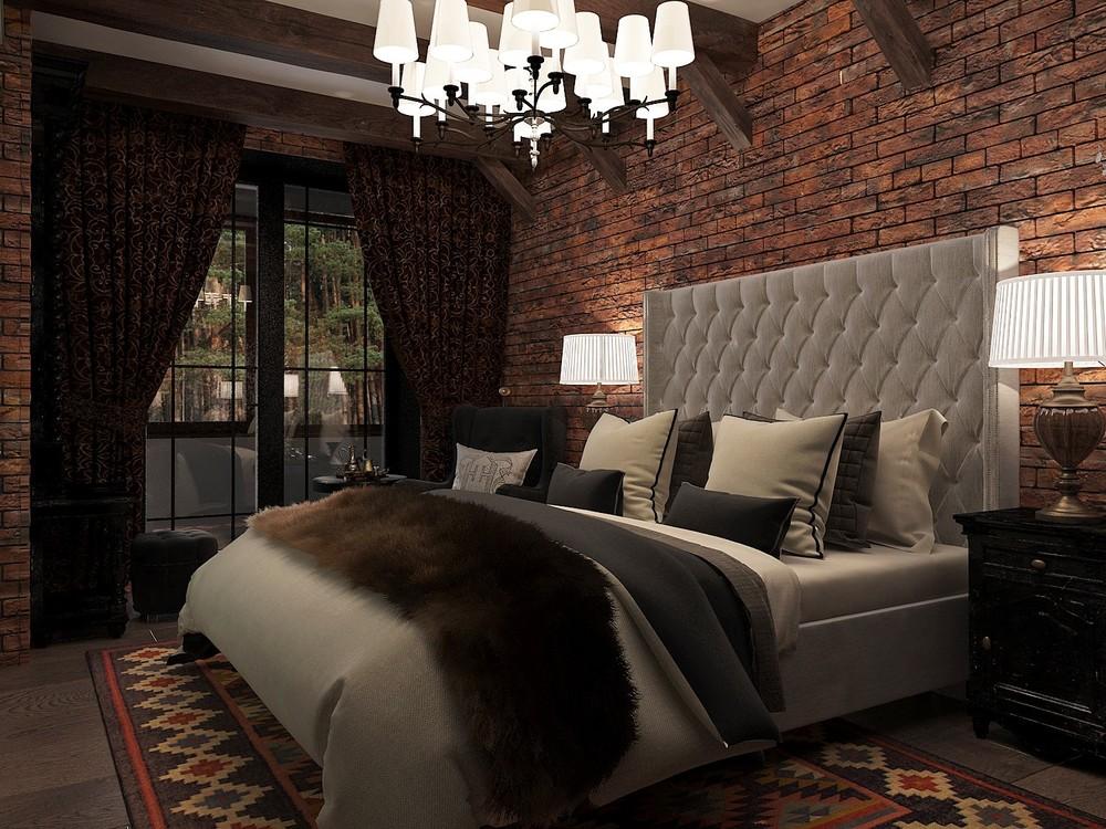Мария Шубина Вероника Добрякова спальня кабинет дизайн интерьера отель
