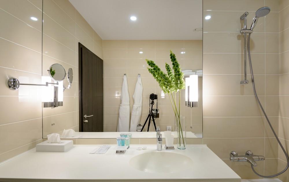 Мария Шубина Вероника Добрякова отель декор номер дизайн интерьера отеля апартаменты ванная