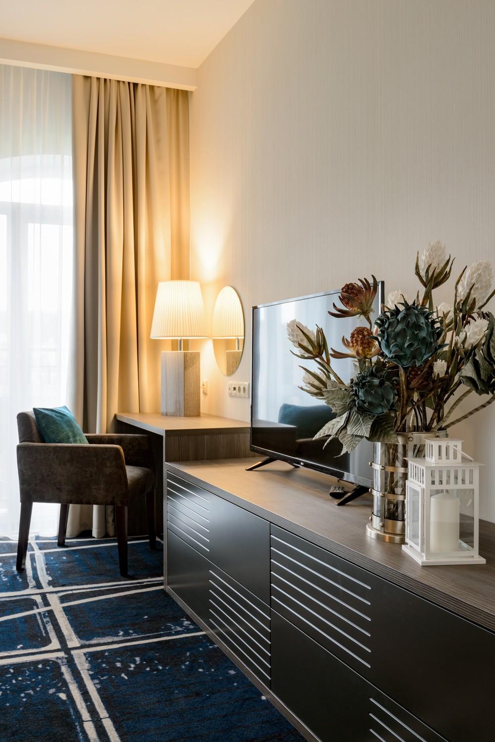 Мария Шубина Вероника Добрякова отель декор номер дизайн интерьера отеля апартаменты лаунж