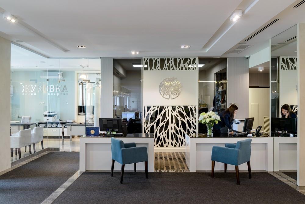 Мария Шубина Вероника Добрякова отель лобби ресепшн reception дизайн интерьера отеля