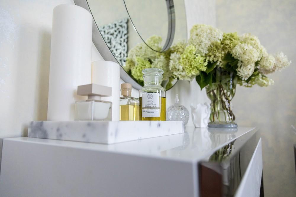 Мария Шубина, дизайн спальни, женская спальня, декор, зеркало, спальня, туалетный столик