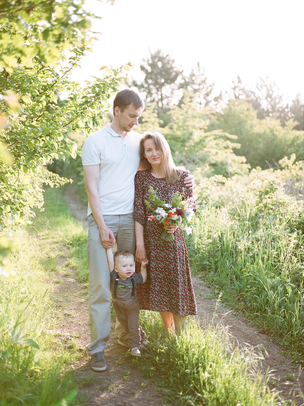 Alexandra & Kiril Family
