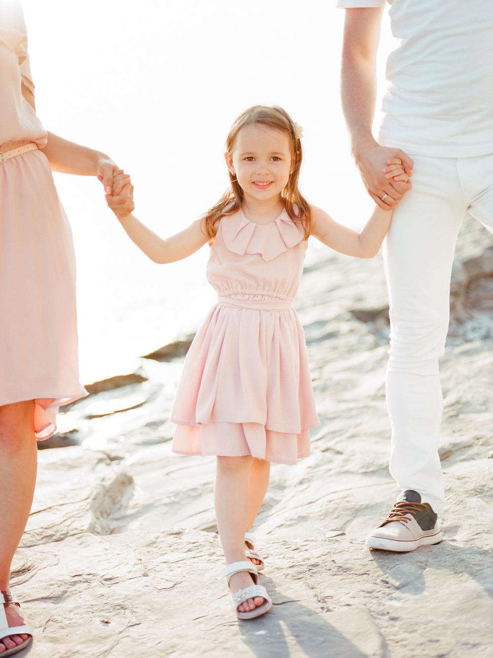Daria and Alexey family