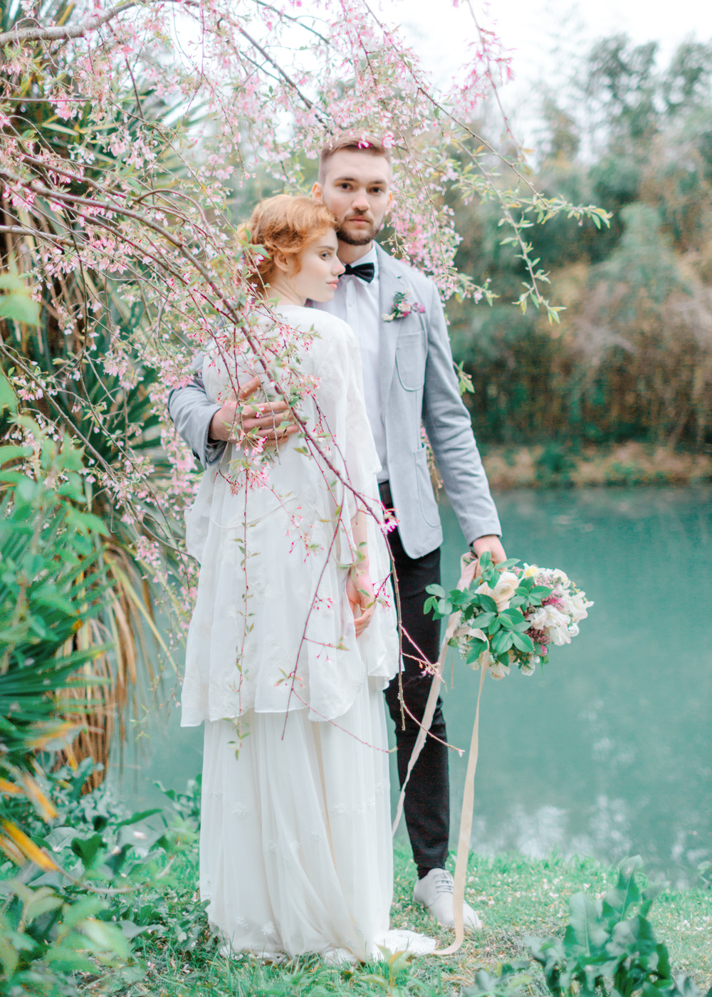 Красивая свадебная фотосессия в Сочи