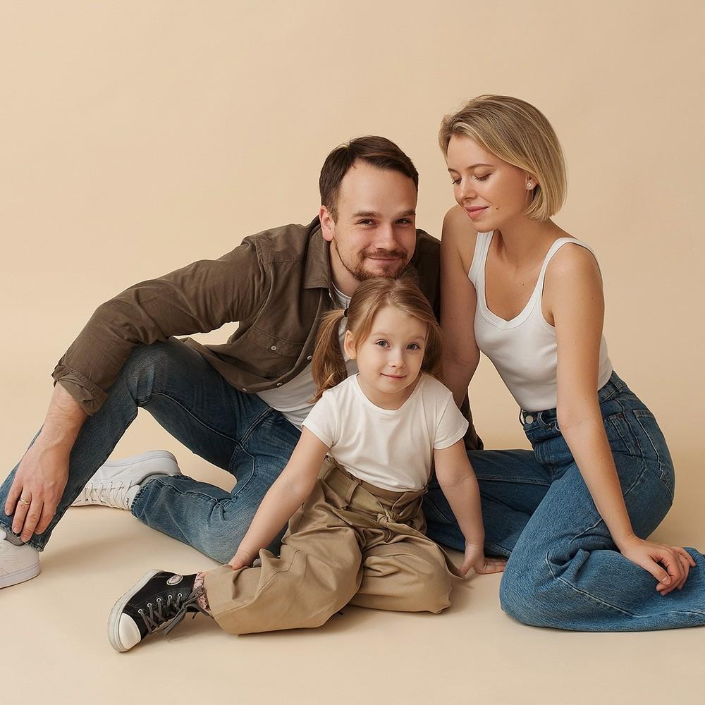 Алина, Илья и Даша