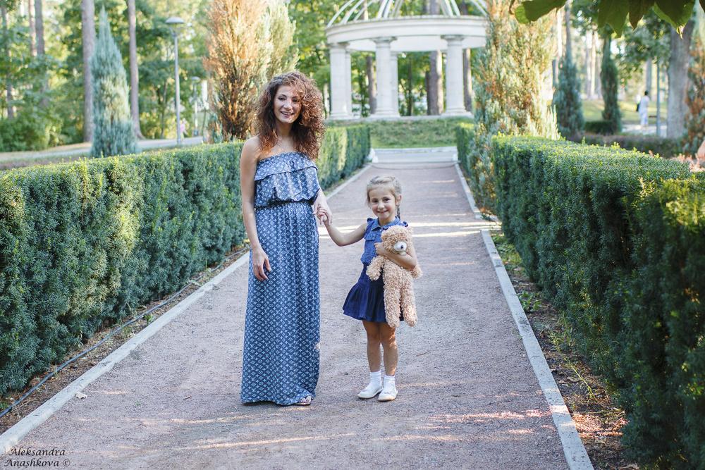 Семейная фотосессия Яны и Дианы