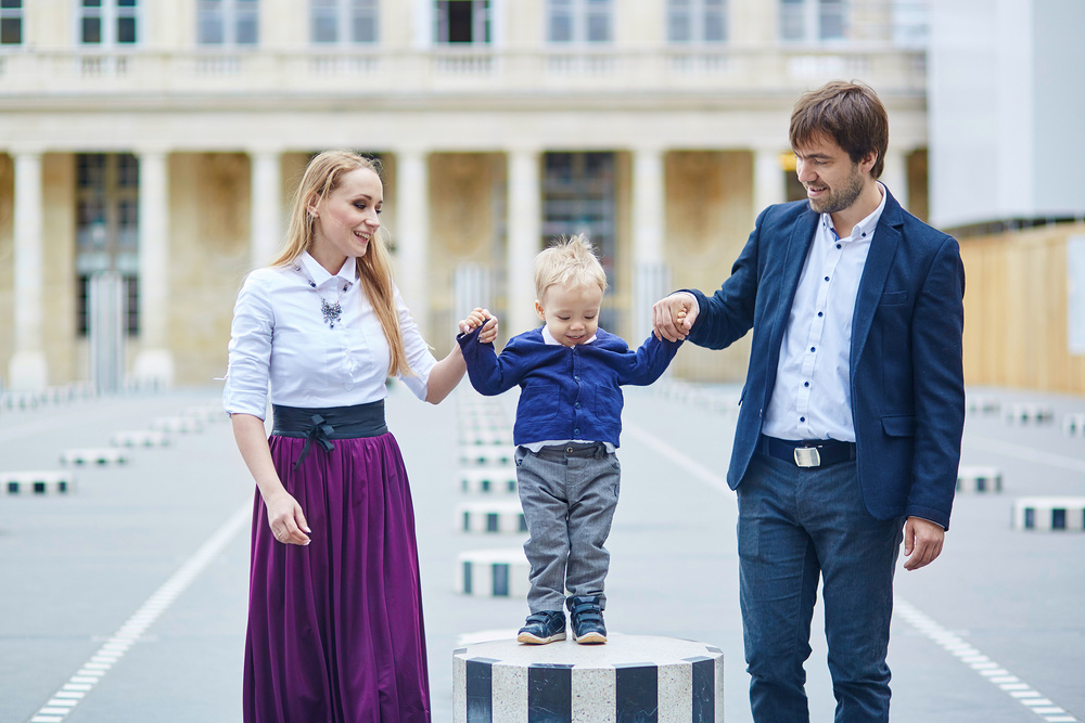 Yulia, Alexey and Artemy