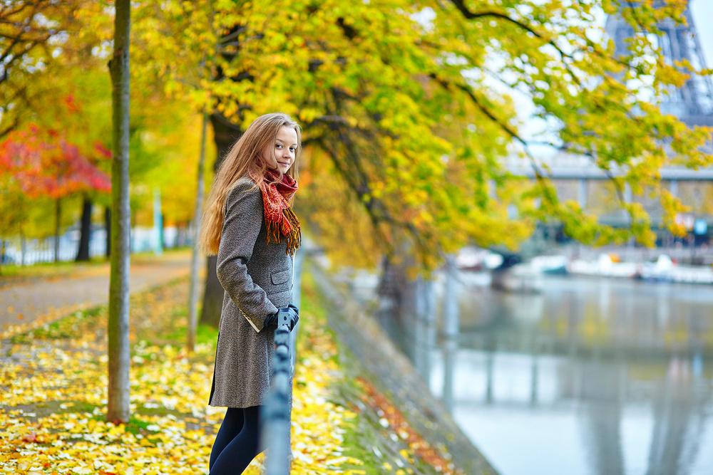 Parisian golden autumn