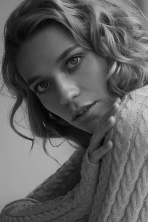 Лиза / модельные тесты с естественным светом