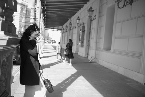 Даша/ уличная фотосессия в центре Москвы