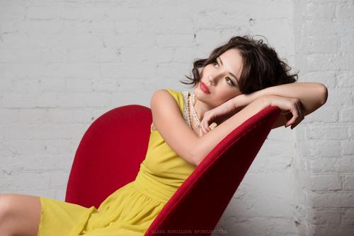 Yellow love style/Portraits