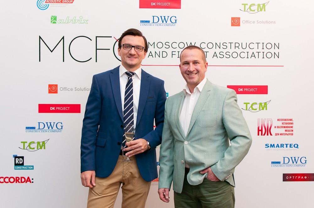 ДЕНЬ РОЖДЕНИЯ MOSCOW CONSTRUCTION & FIT-OUT ASSOCIATION