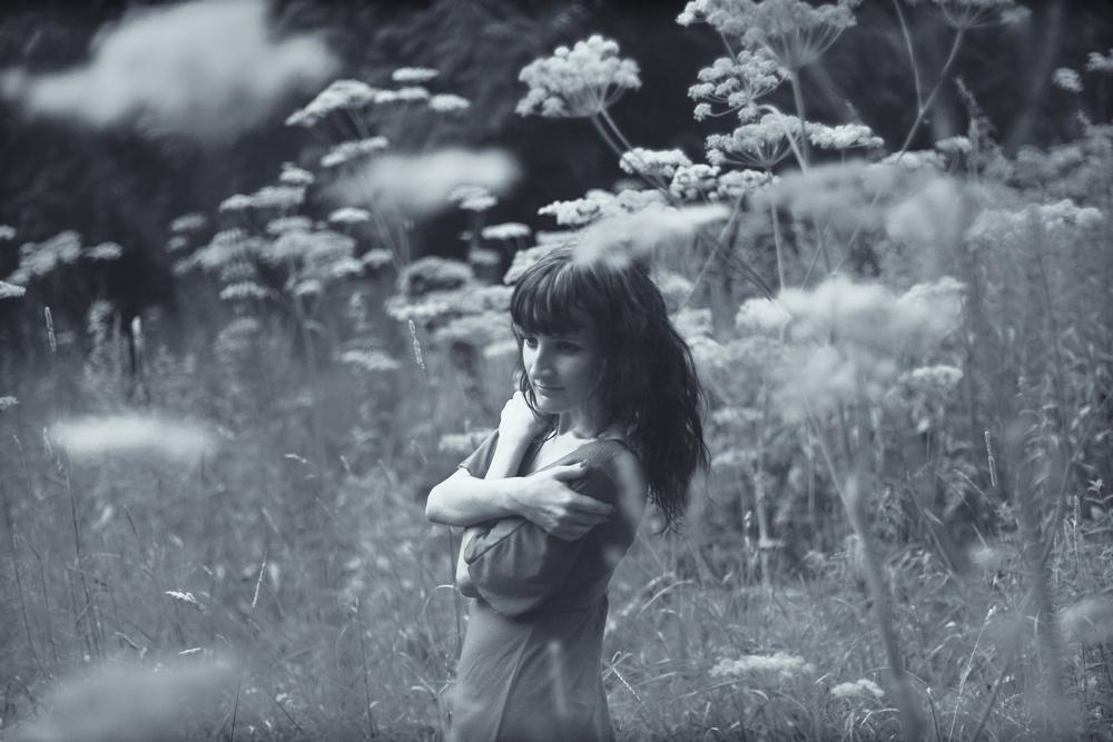 портрет девушка природа