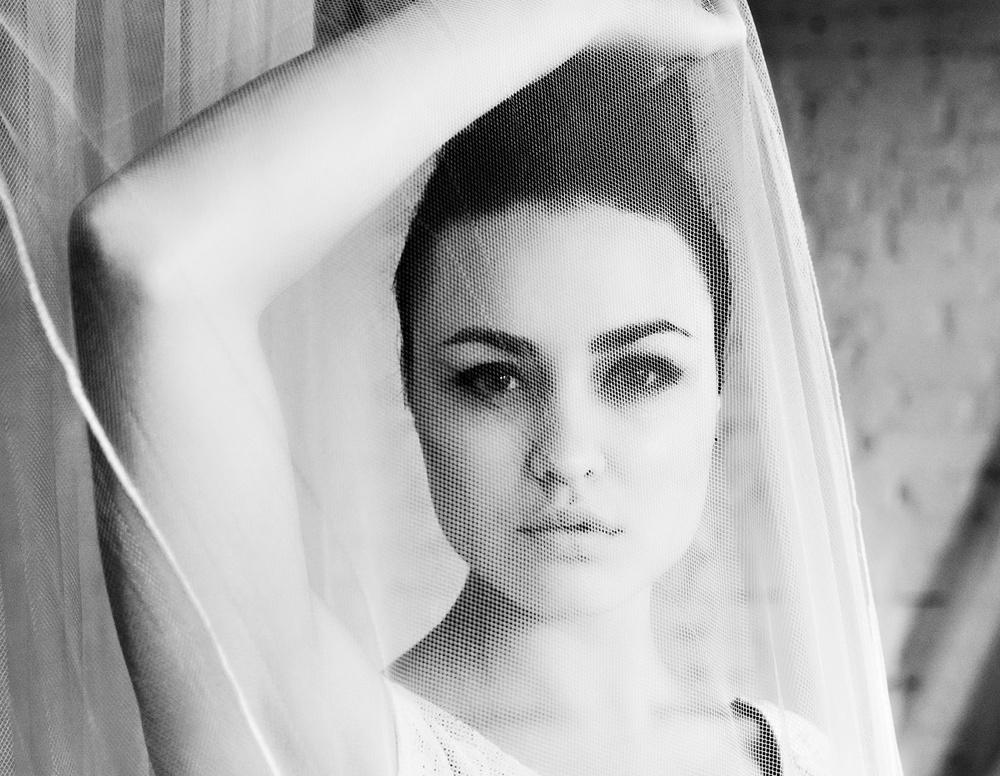 девушка модель портрет