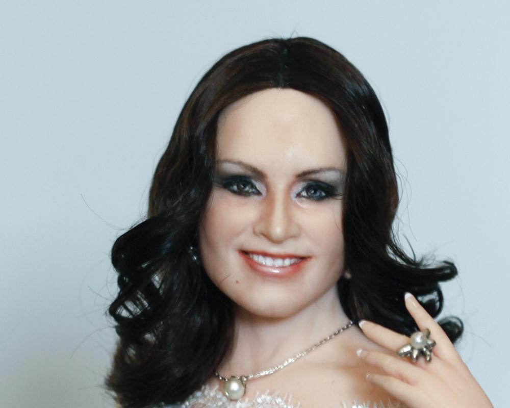 ротару софия, портретная кукла, кукла в подарок, кукла по фото,