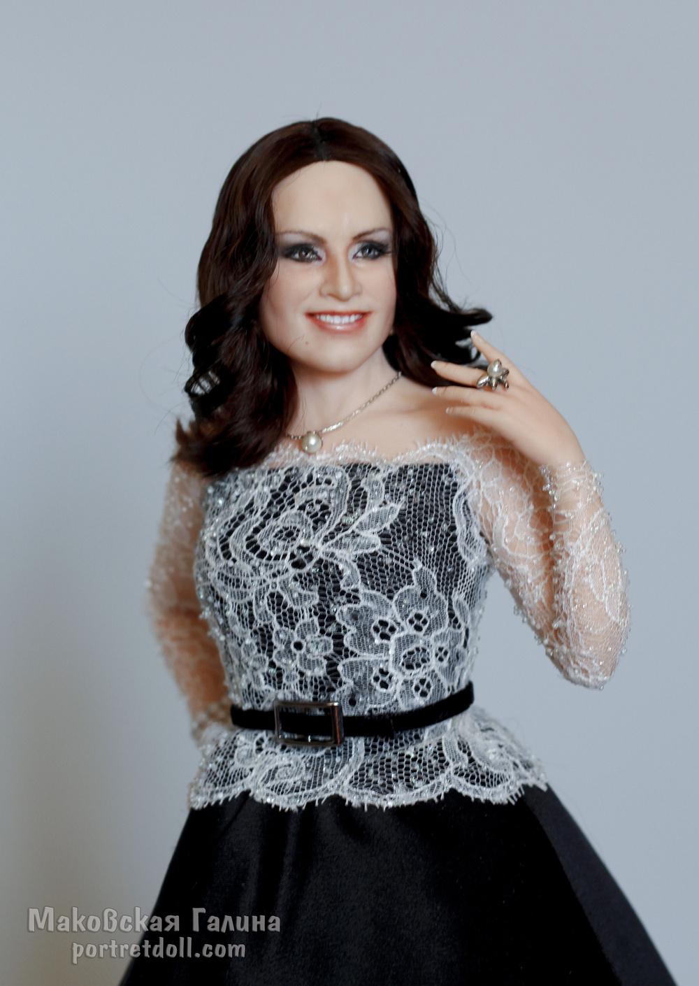 ротару софия, портретная кукла, кукла в подарок, кукла по фото, вид1