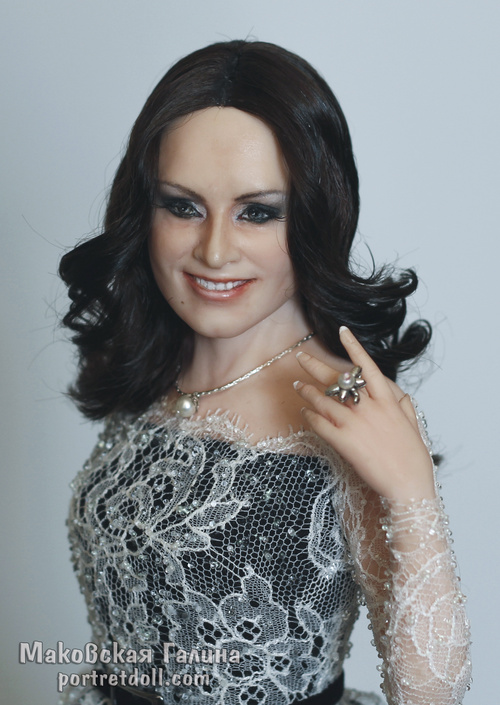 ротару софия, портретная кукла, кукла в подарок, кукла по фото, крупный план