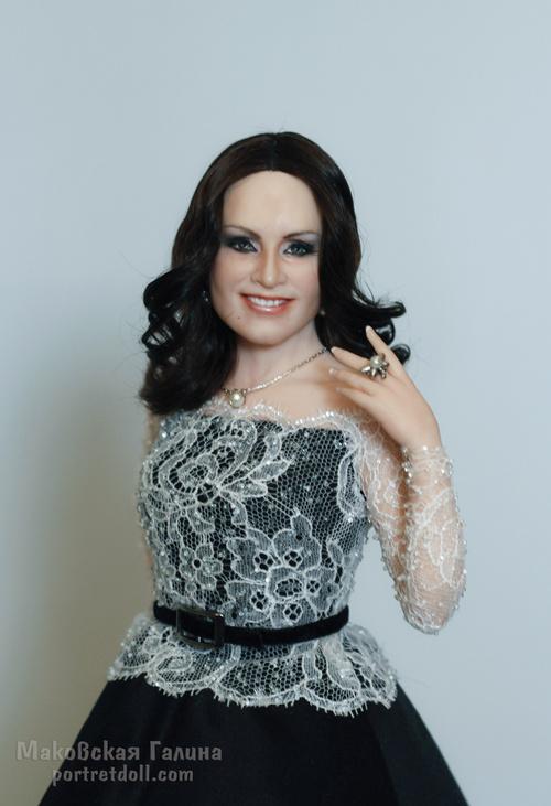 ротару софия, портретная кукла, кукла в подарок, кукла по фото, вид2