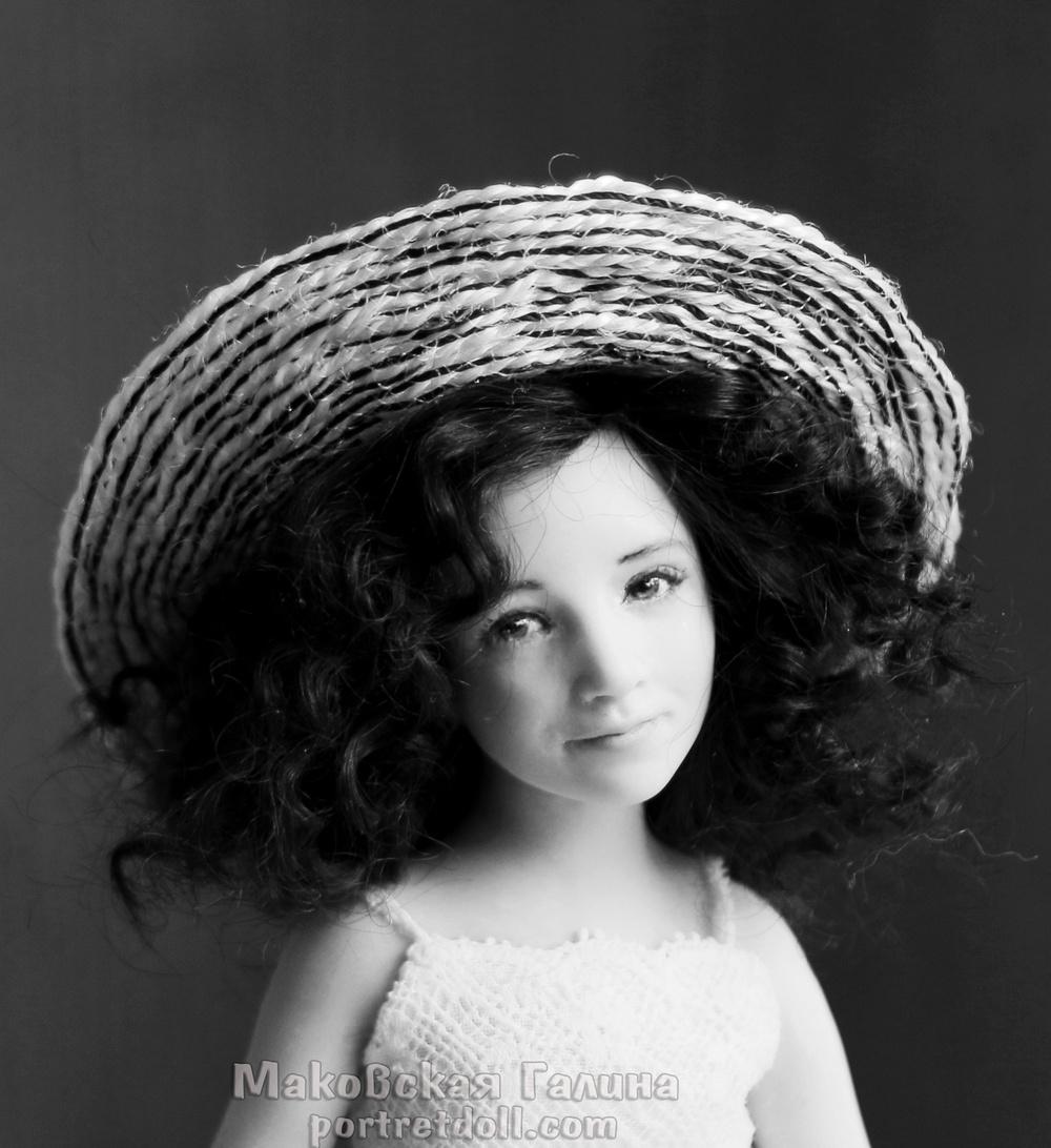 портретная кукла, кукла по фото, подарок, девочка, ребенок