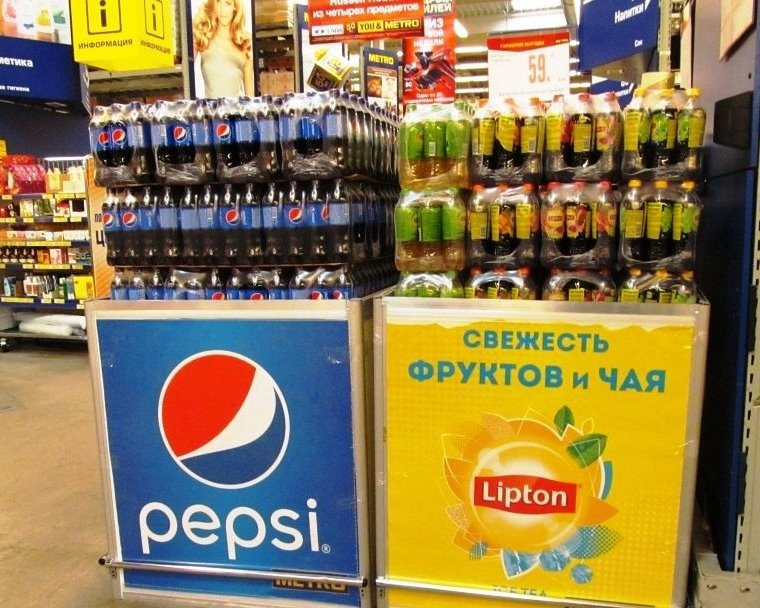 Монтаж паллетных кубов для PepsiCO